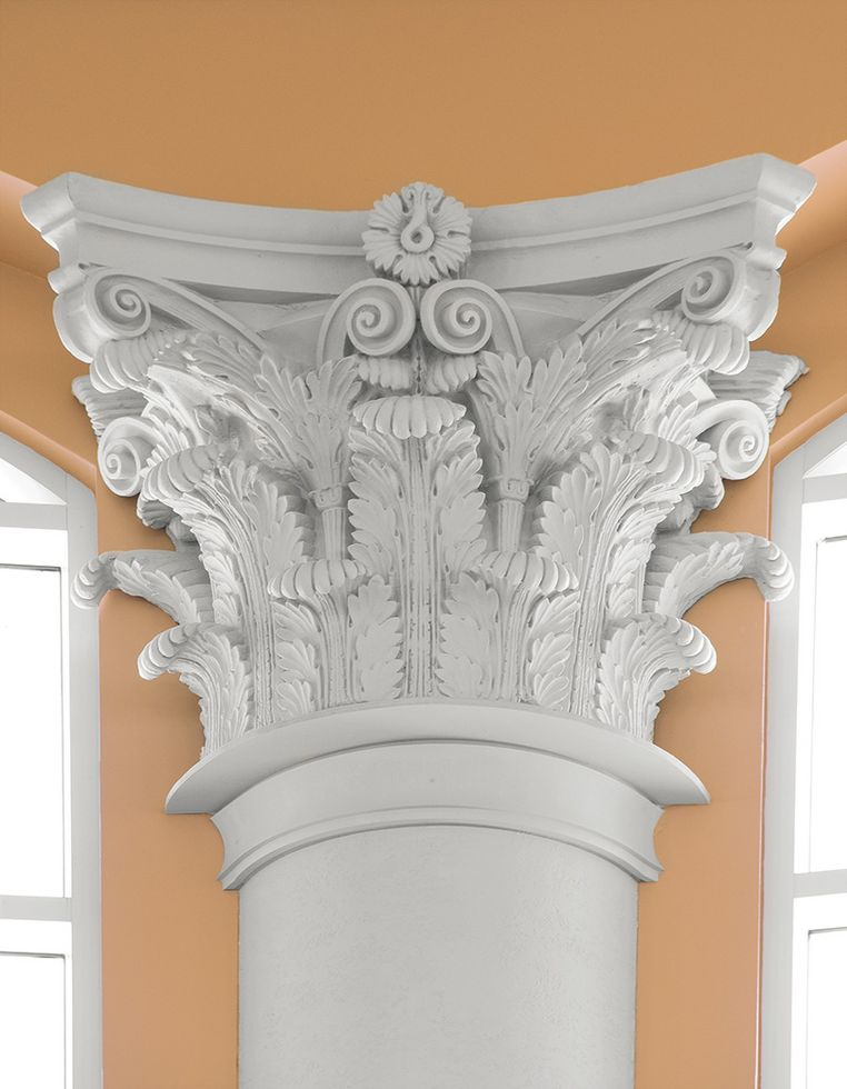 GRG Custom Column Covers & Capitals