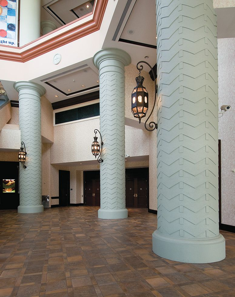 GRG Custom Column Covers, Capitals & Bases