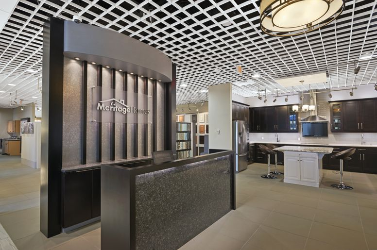 Meritage Homes Design Center | Armstrong Ceiling Solutions – Commercial