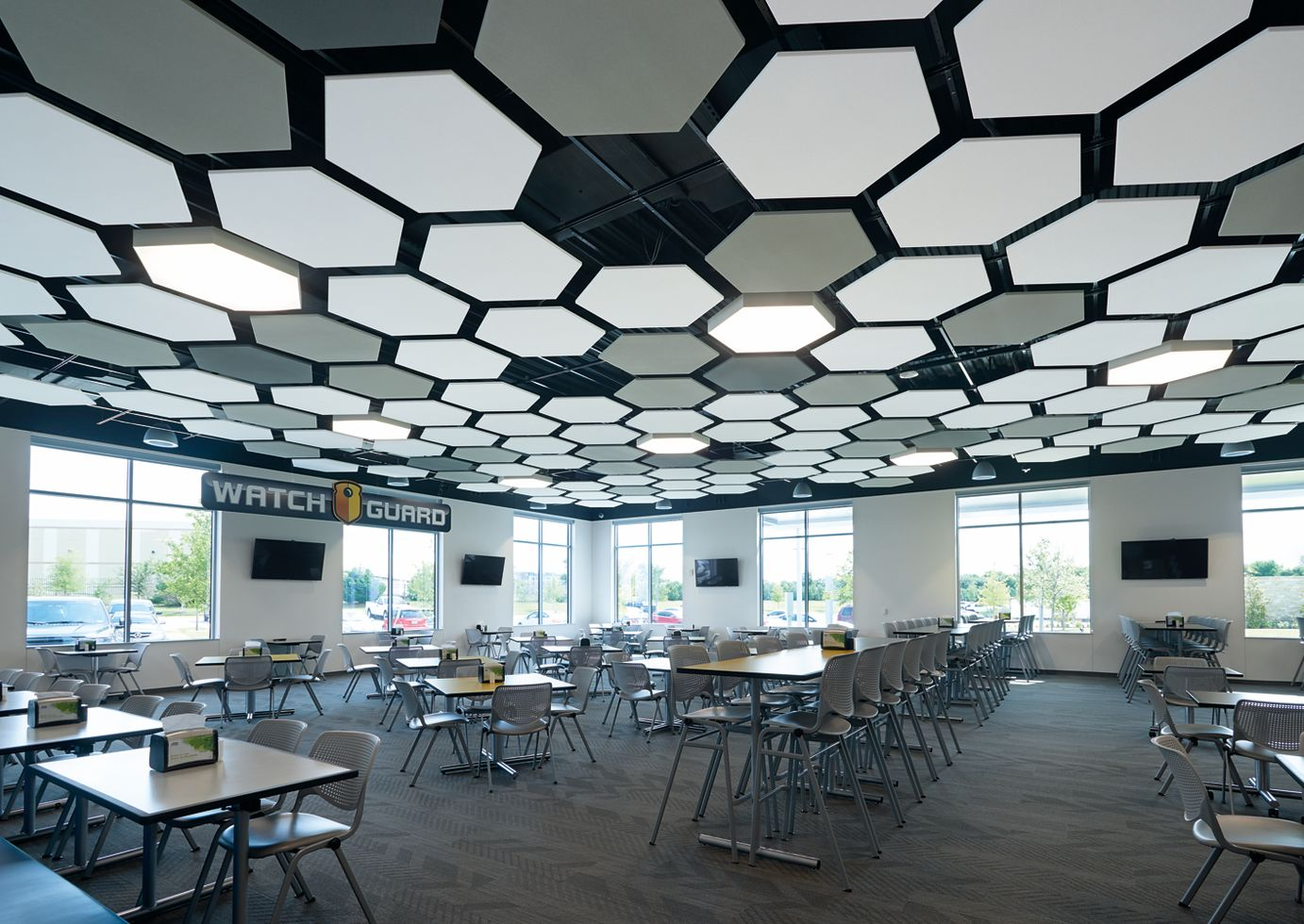SOUNDSCAPES Shapes Hexagons / METALWORKS Linear Walls