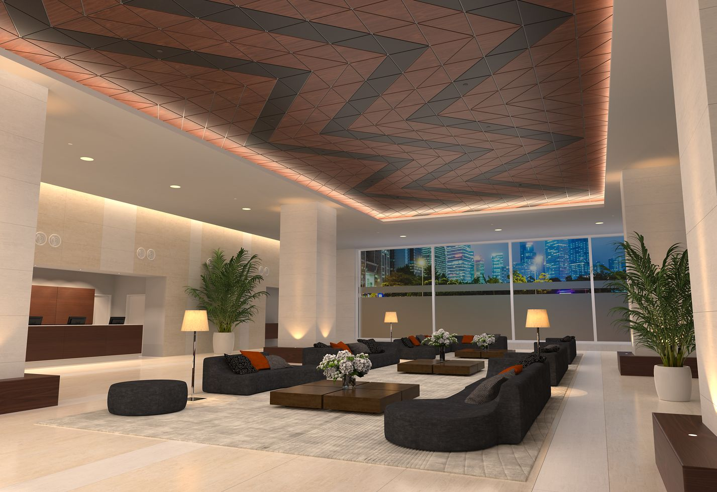 WOODWORKS Shapes for DESIGNFlex Ceilings Rendering