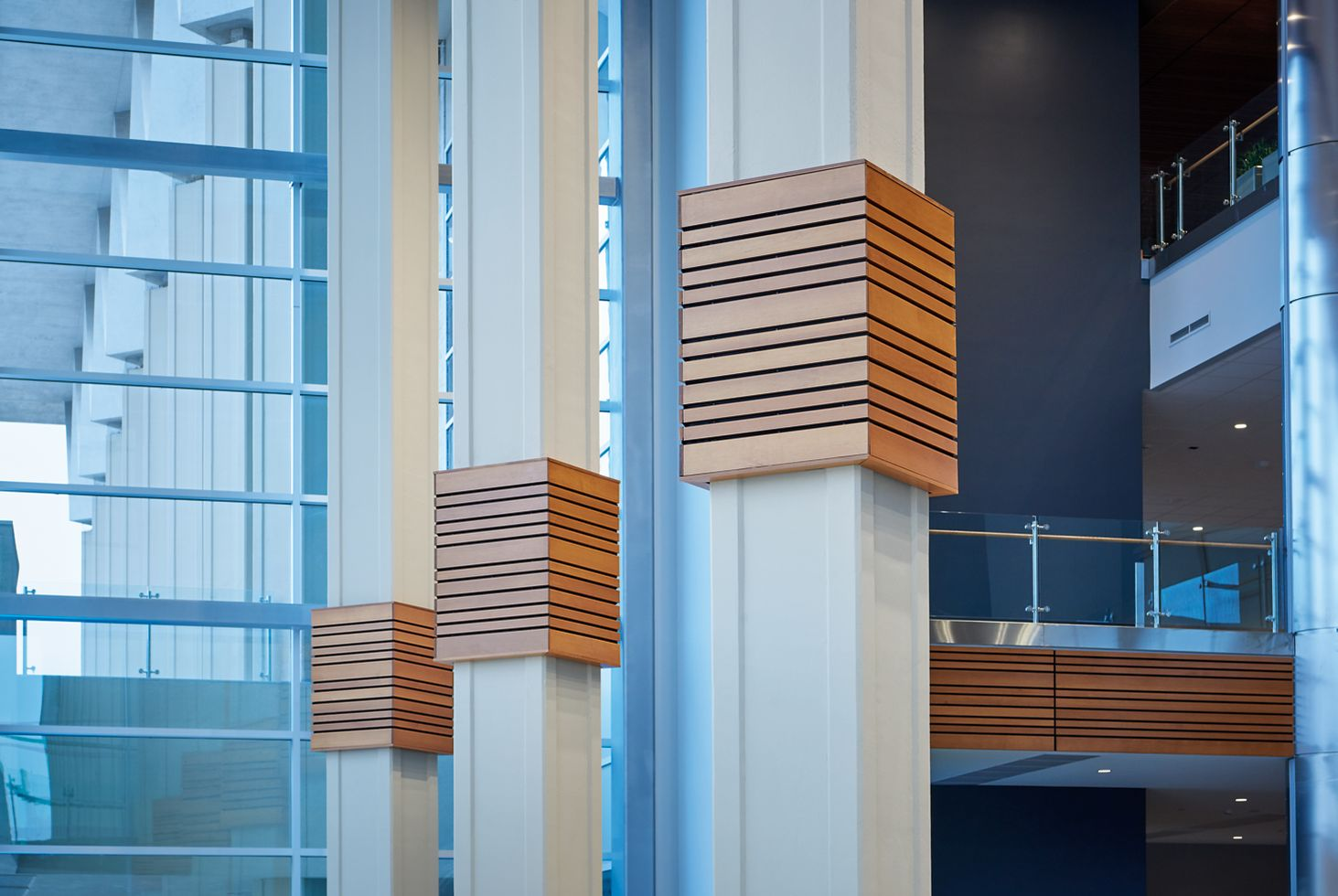 Custom WOODWORKS Grille Column Surrounds