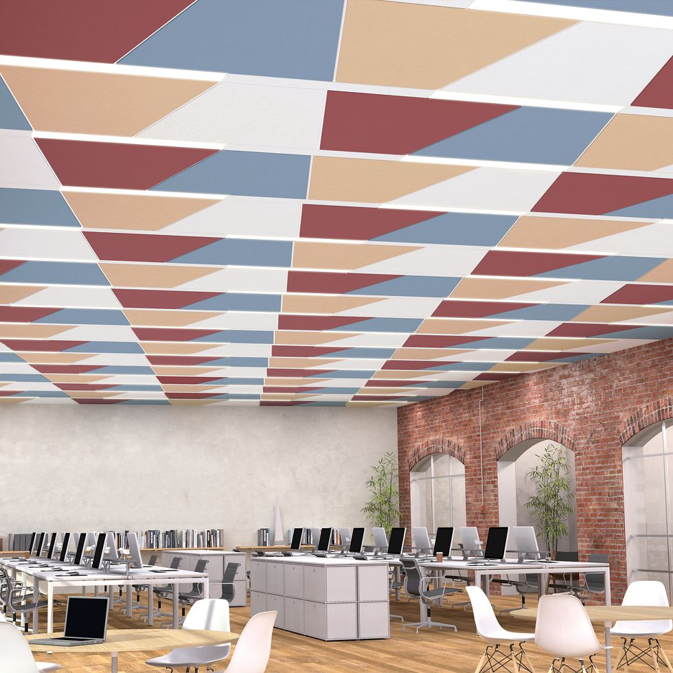 Triangle Ceiling | Armstrong Ceiling Solutions – Commercial