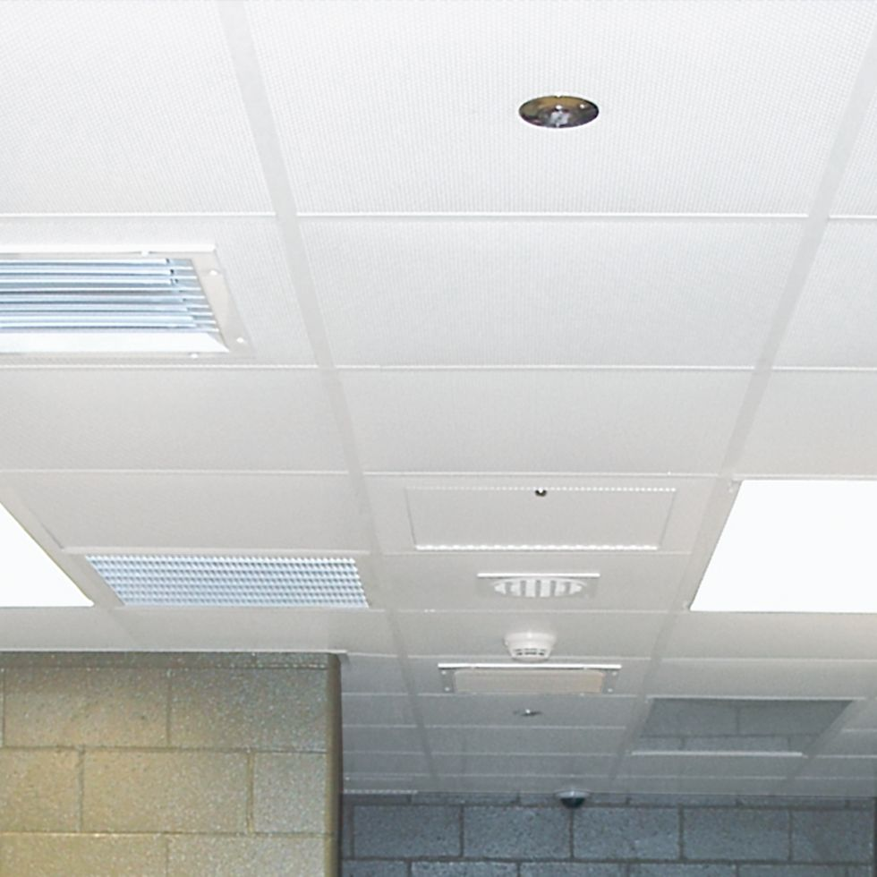 Security ceiling tiles panels armstrong ceiling solutions correctional and high security ceiling tiles dailygadgetfo Image collections
