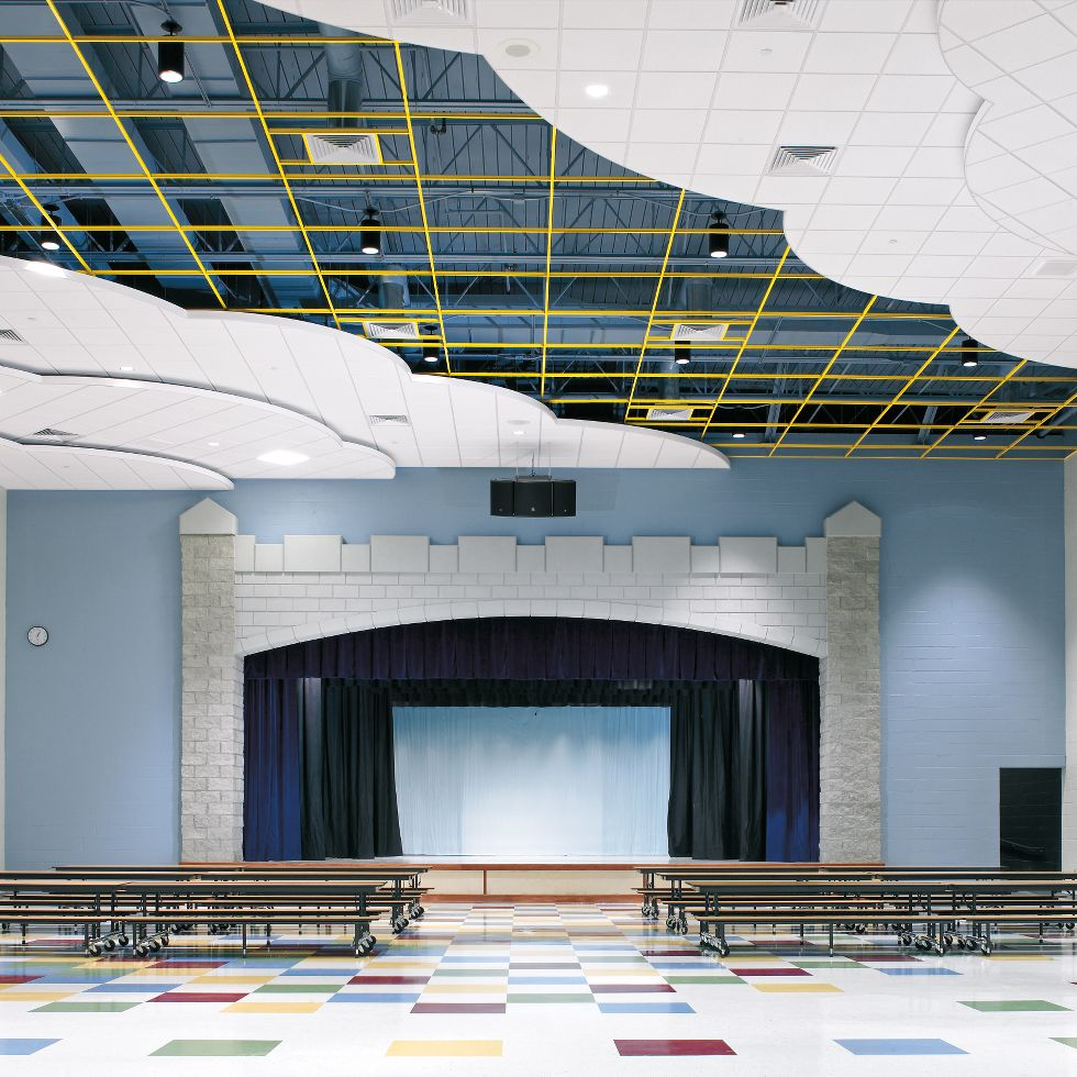Fine Fissured Lines Armstrong Ceiling Solutions Commercial