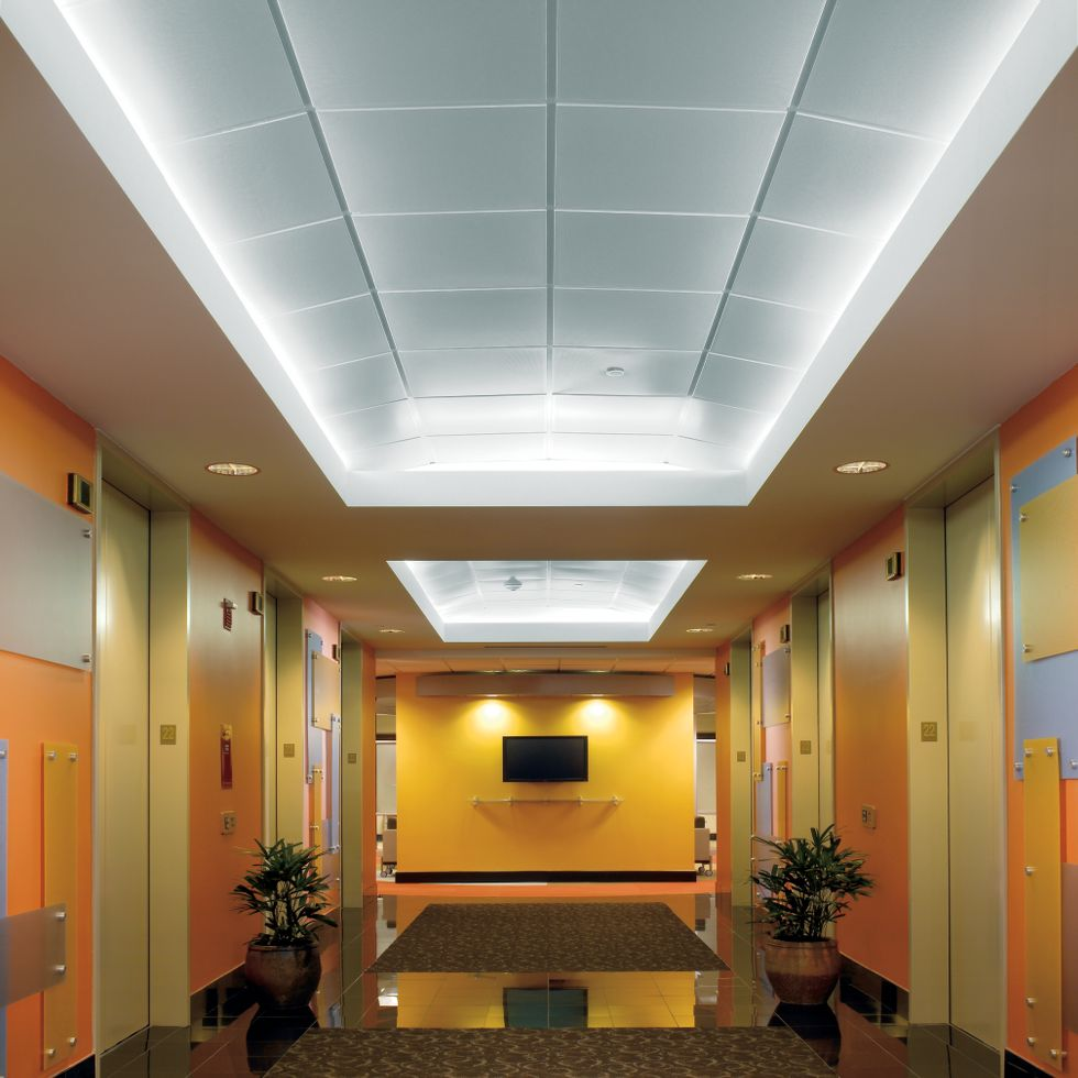 Metal ceilings armstrong ceiling solutions commercial - Different types of decorative ceiling tiles you can find ...