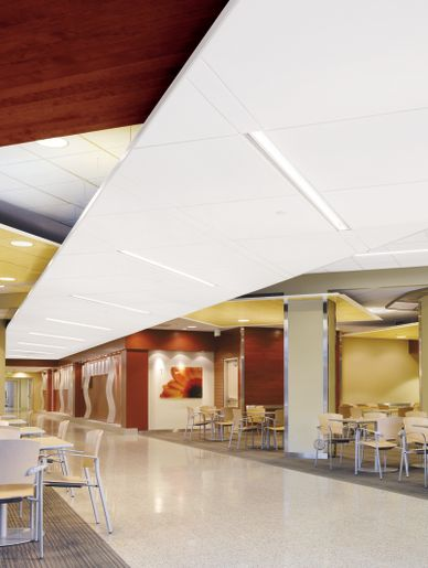university of utah hospital west pavilion armstrong ceiling