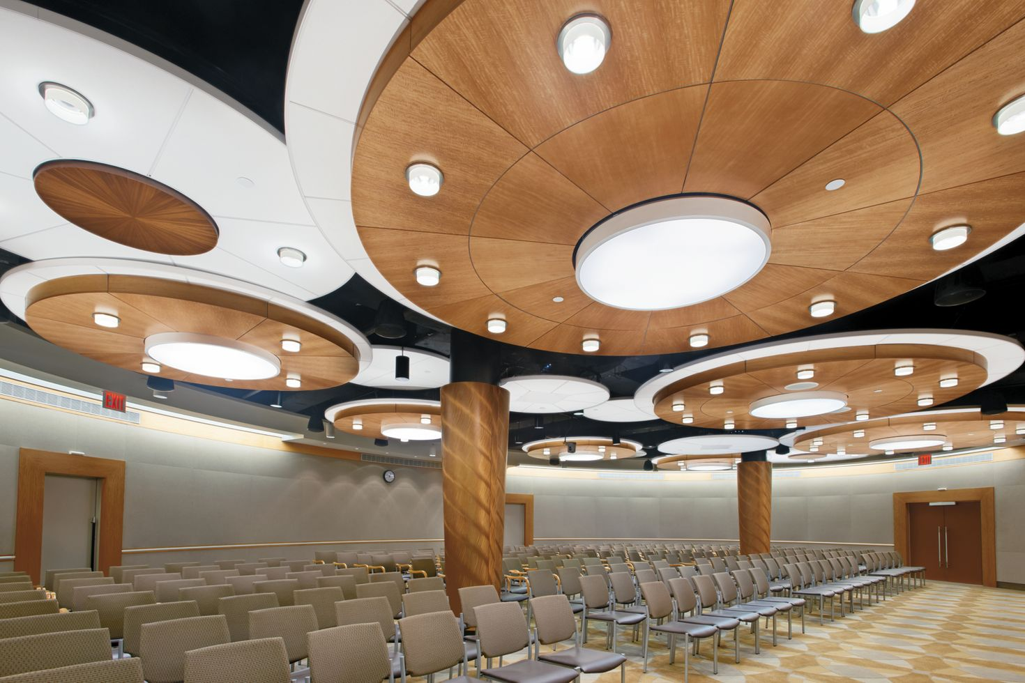 WoodWorks Radial  Custom Ceiling System