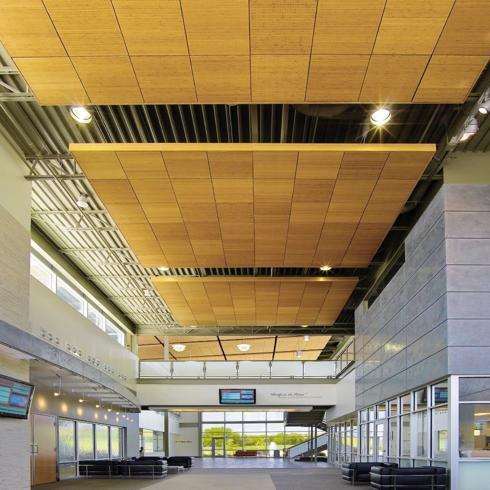 Wood Ceilings Planks Panels Armstrong Ceiling Solutions Commercial