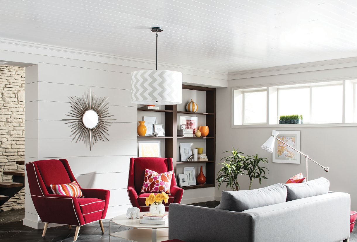 Wood Look Ceilings - 1148 | Armstrong Ceilings Residential