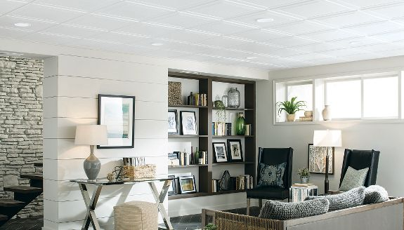 Browse Drop Ceiling Tiles | Ceilings | Armstrong Residential