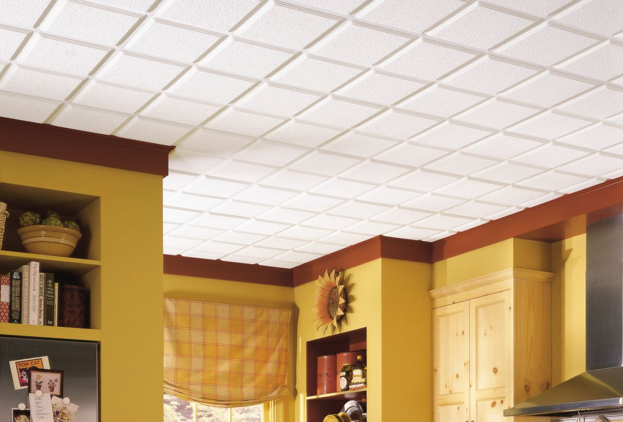 decorative suspended ceilings 1270 armstrong ceilings residential - Engaging Decorative Ceiling Tiles