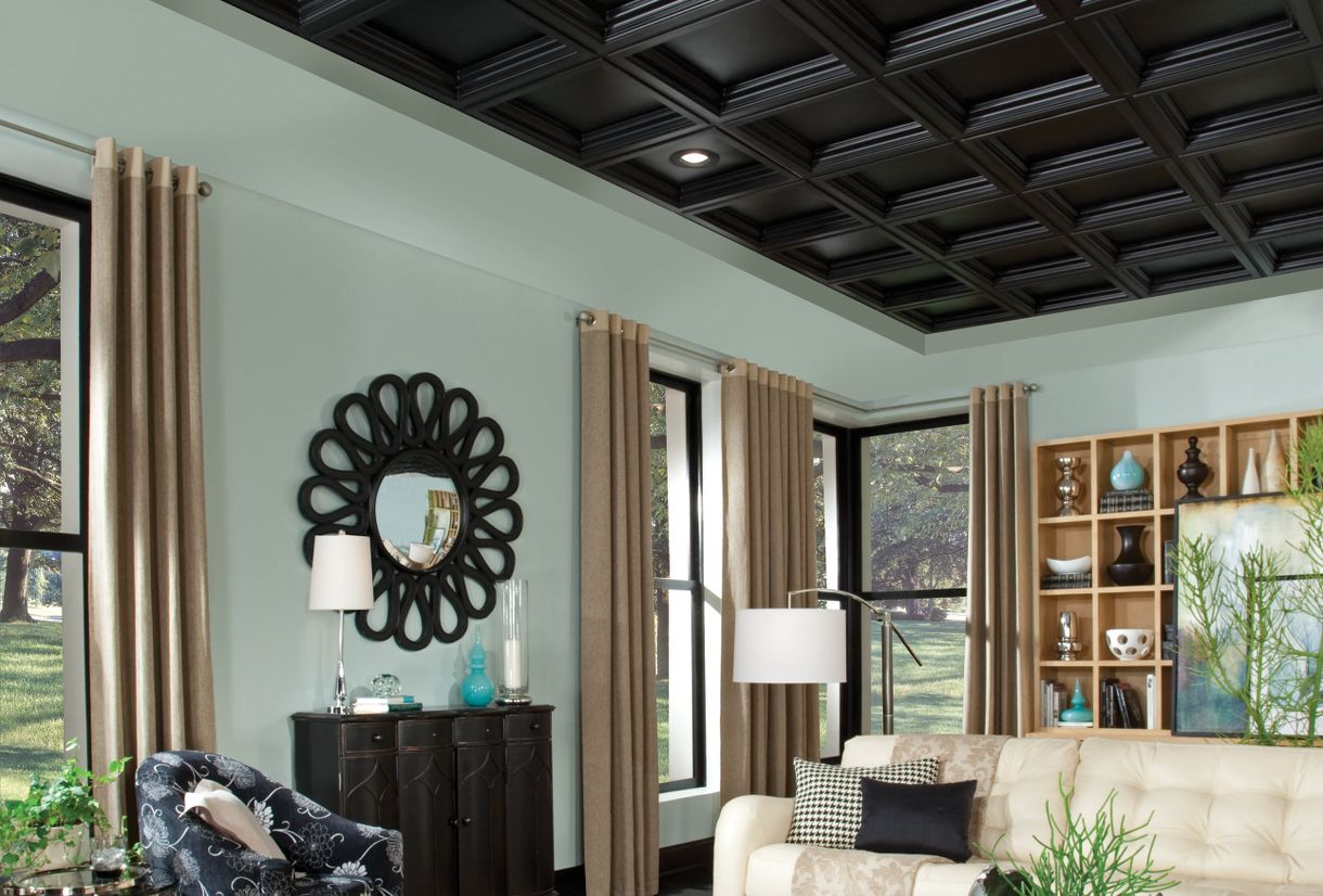 Drop ceiling tiles armstrong ceilings residential compare dailygadgetfo Images