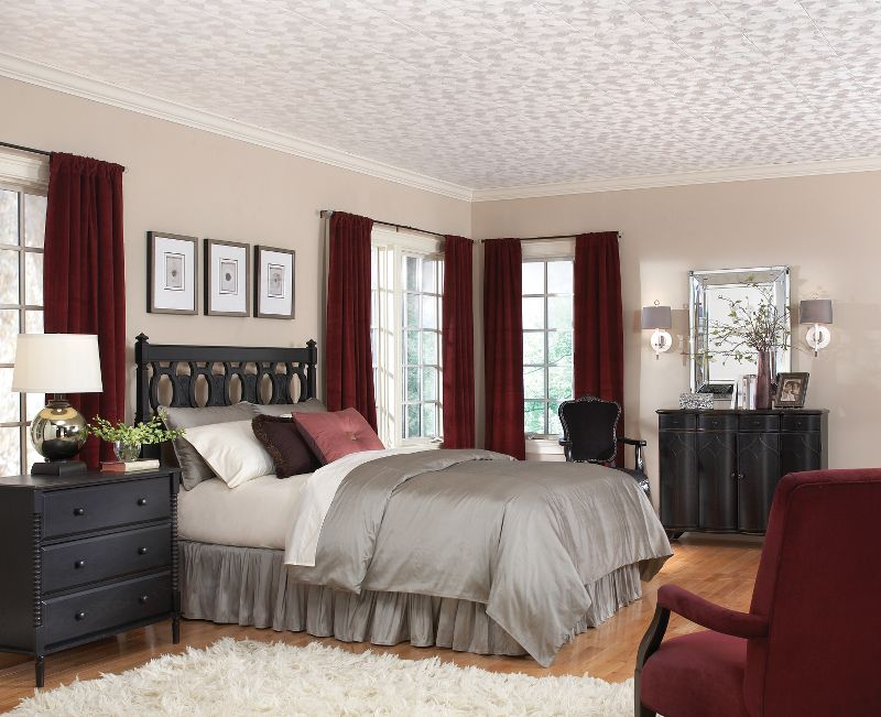 "Bedroom Designs 12 X 12 12"" x 12"" ceiling tiles - 250 