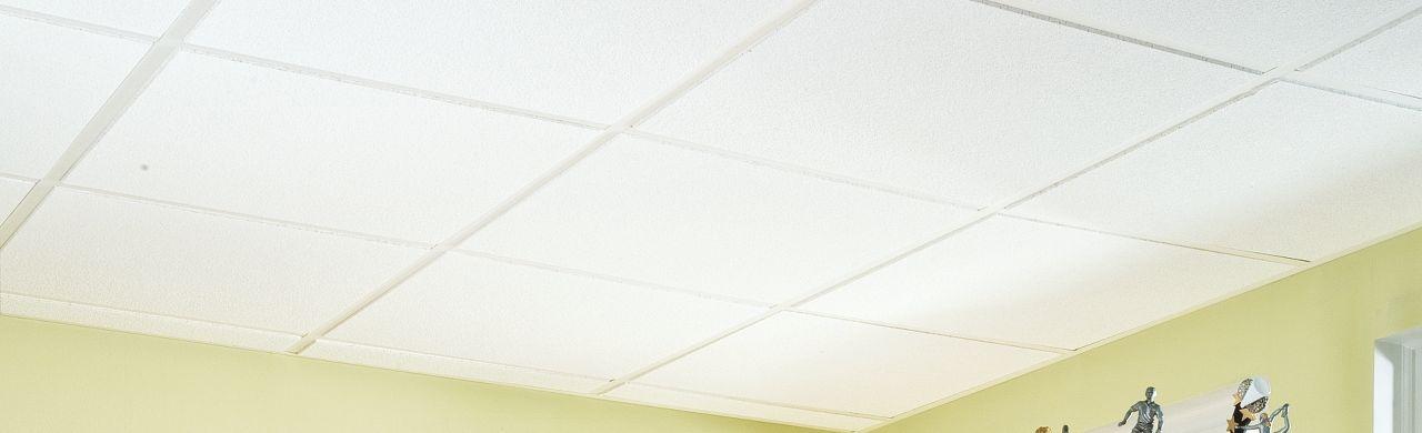 model 271 - White Ceiling Tiles