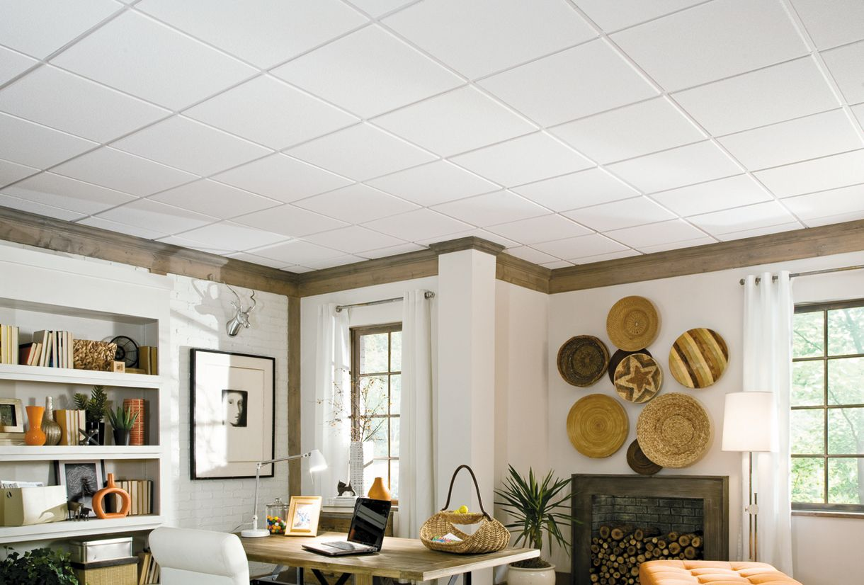 Acoustic ceiling tiles armstrong ceilings residential compare dailygadgetfo Gallery