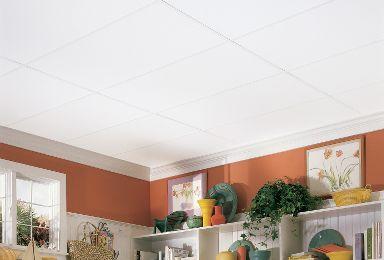 plain white 24 x 48 - White Ceiling Tiles