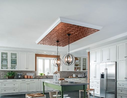 Copper Ceiling Accent Cloud