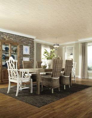 Driftwood-inspired Dining Room