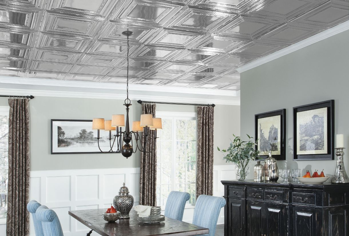 Metal ceiling tiles armstrong ceilings residential compare dailygadgetfo Gallery