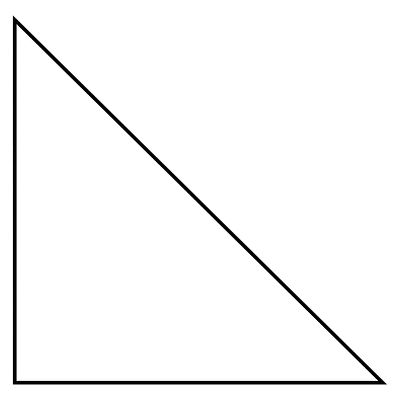 Right Triangle - Left