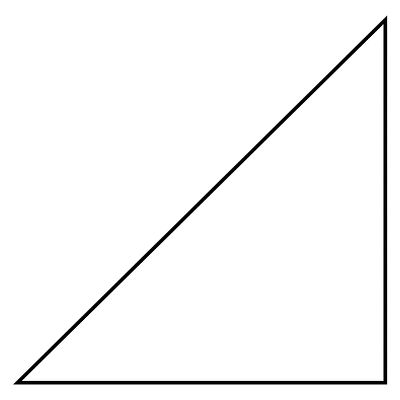 Right Triangle - Right