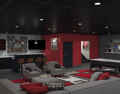 "The Sleek ""Fancave"""