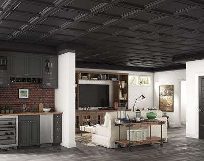 Image of: Plastic Ceiling Panels 1282blbxa Ceilings Armstrong Residential