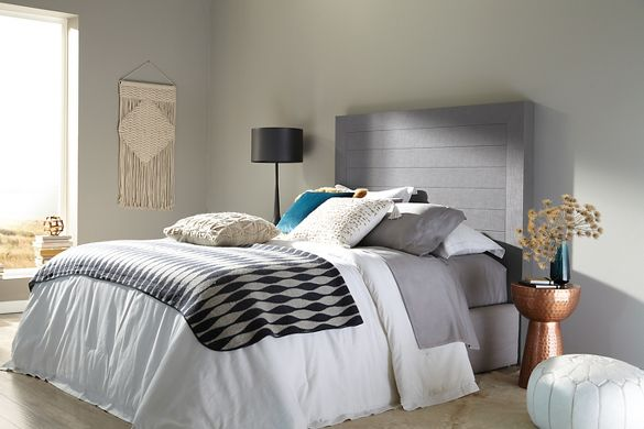 Wood Planks as Headboard