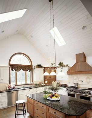 Traditional White & Wood Kitchen