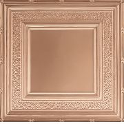 "METALLAIRE Hammered Border Copper 24"" x 24"""