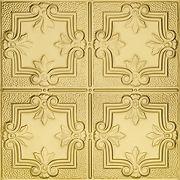 METALLAIRE Hammered Trefoil Brass 24