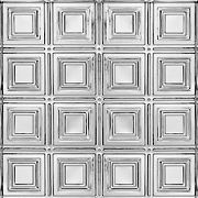 "METALLAIRE Small Panels Chrome 24"" x 48"""