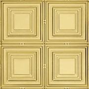 "METALLAIRE Medium Panels Brass 24"" x 48"""