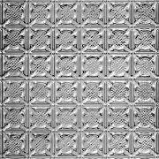 "METALLAIRE Medallion Backsplash 18.5"" x 48.5"""