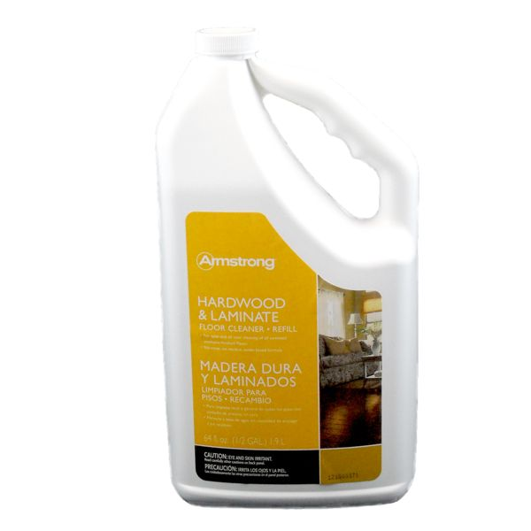 Cleaners, Polishes, Sealers Armstrong Hardwood & Laminate Floor Cleaner Refill: S-329