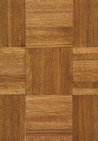 Armstrong Urethane Parquet Oak - Honey Hardwood Flooring - 3/4