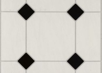Vinyl Tile Flooring Armstrong Flooring Residential - Black and white square vinyl flooring