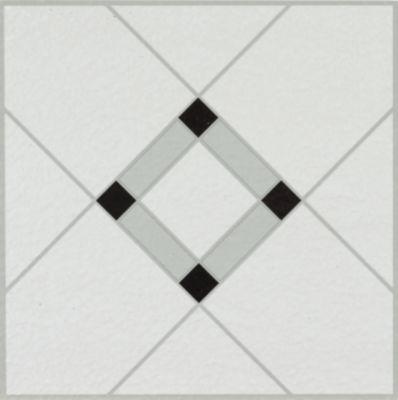 lattice lane vinyl tile blackwhite