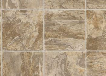 溪床乙烯基板-古董大理石