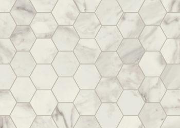 Venetian Marble Vinyl Sheet - Alabaster