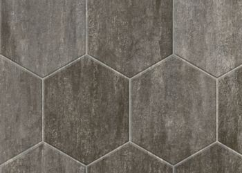 Stone Hex Vinyl Sheet - Mountain Stone