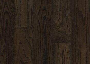 Northern Red Oak Engineered Hardwood - Blackened Brown