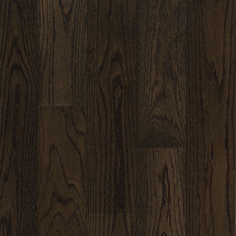 Northern Red Oak Engineered Hardwood Blackened Brown