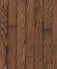 Armstrong Ascot Strip Red Oak - Mink Hardwood Flooring - 3/4