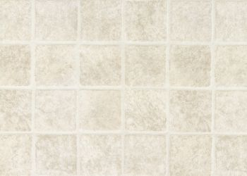 French Paver Feuille de vinyle - White