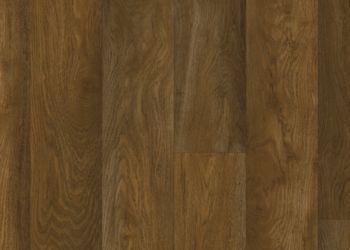Chickasaw Oak Vinyl Sheet - Cocoa Brown