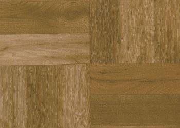Vinyl Tile - Parquet Wood