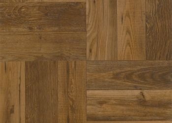 Rustic Wood Carreau de vinyle - Russet