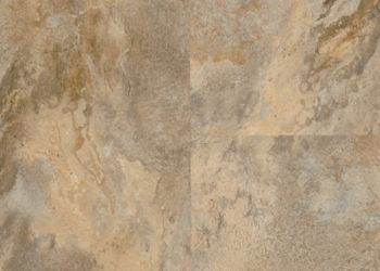 Lexington Slate Luxury Vinyl Tile - Sahara Beige